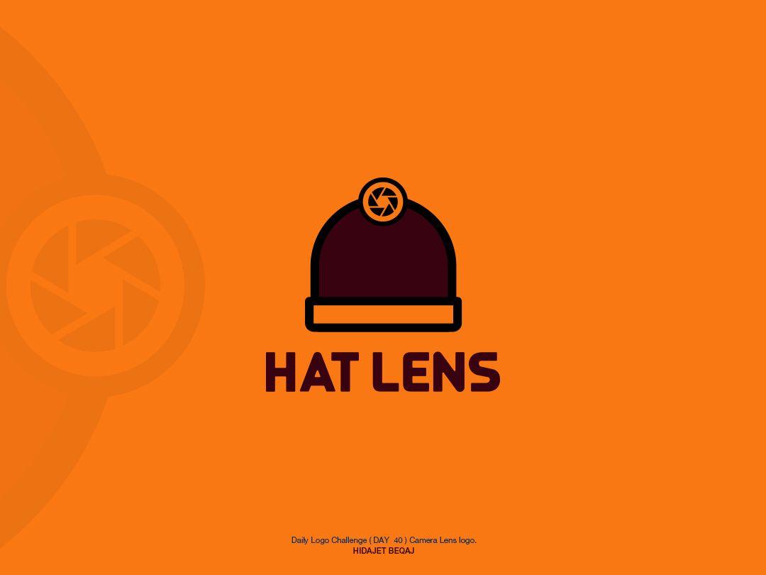 Daily Logo Challenge Day 40 Hat Lens Lens Logo Challenges Logo Design
