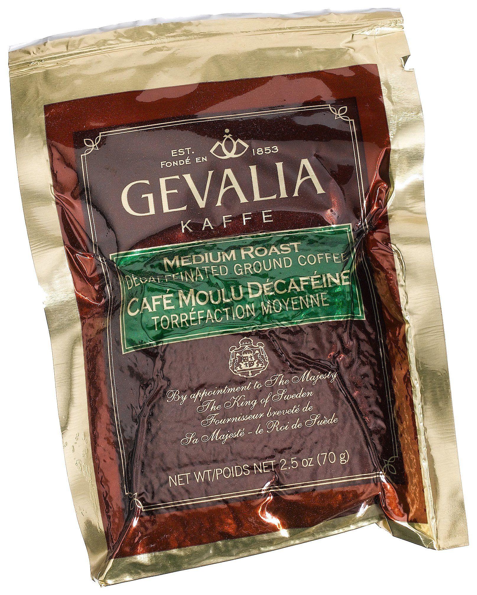 Gevalia House Blend Decaf Coffee 2.5 oz. pack Pack of 24
