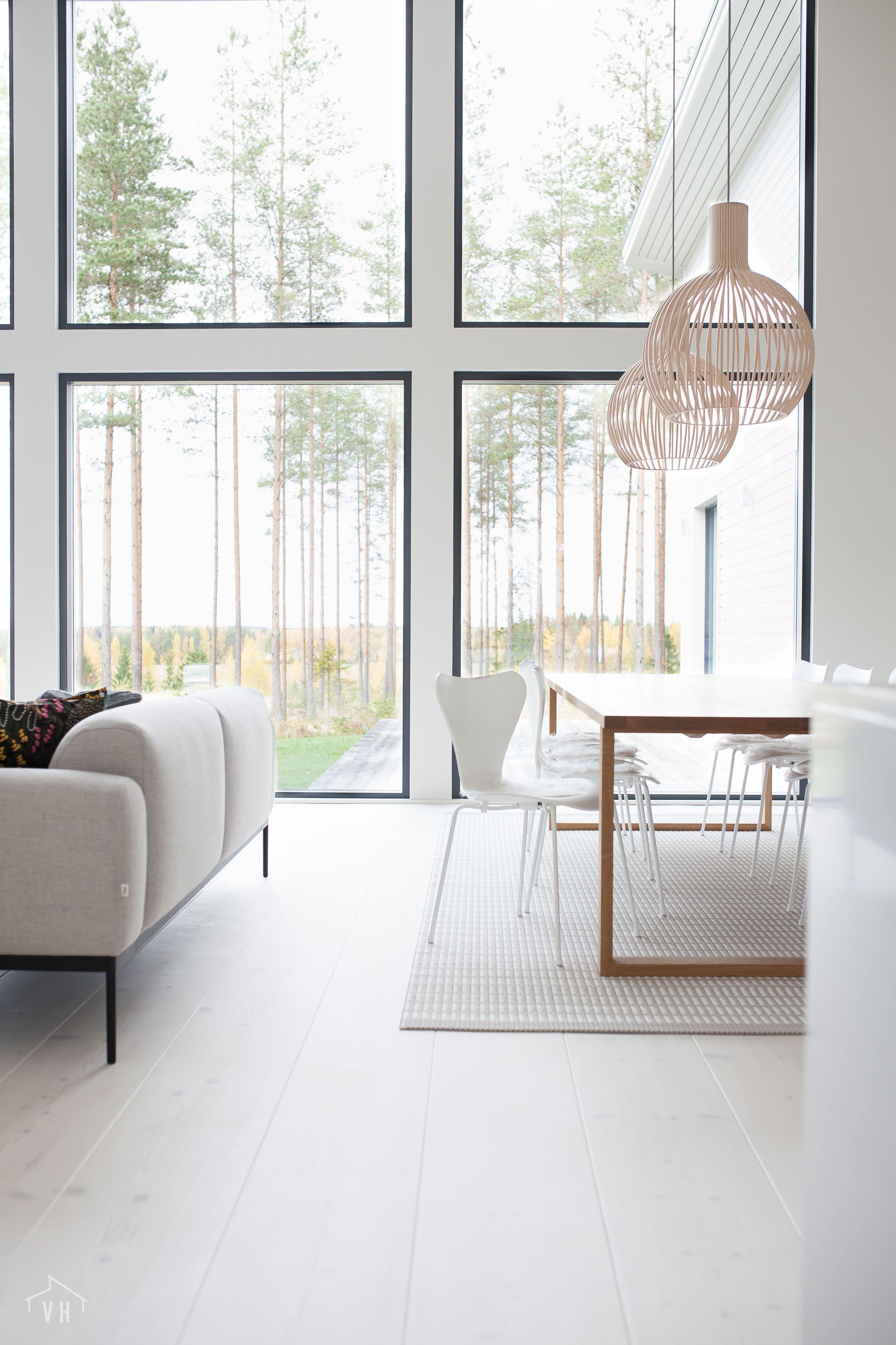 Harmaja Honkain Keskella Carpet Dining Room House Interior