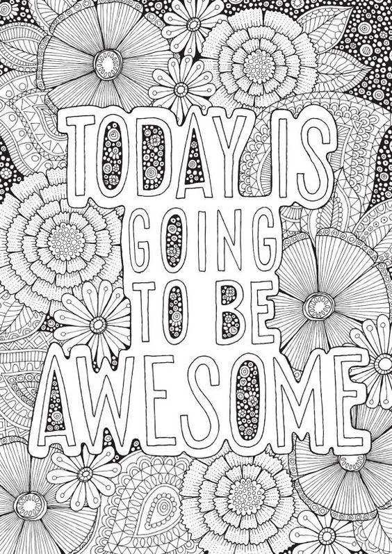 Pin by Nicole Zimmerman on Mental illness   Quote coloring ...