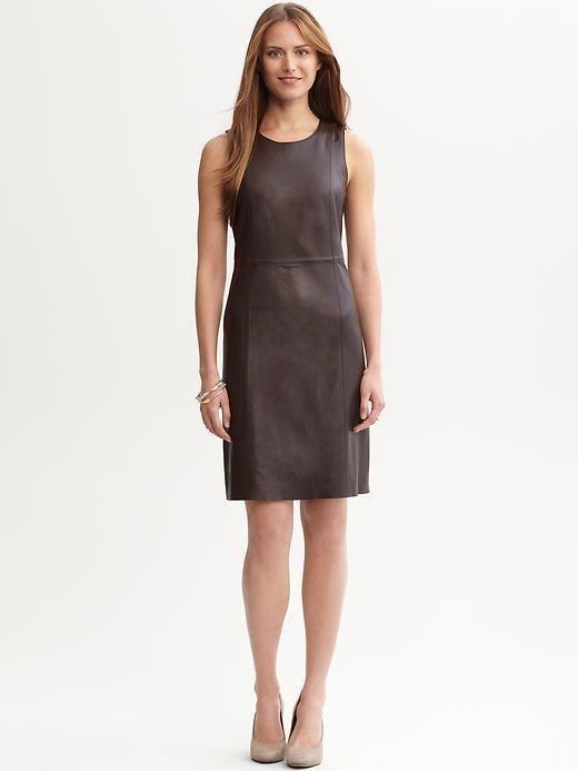 49+ Banana republic leather dress trends