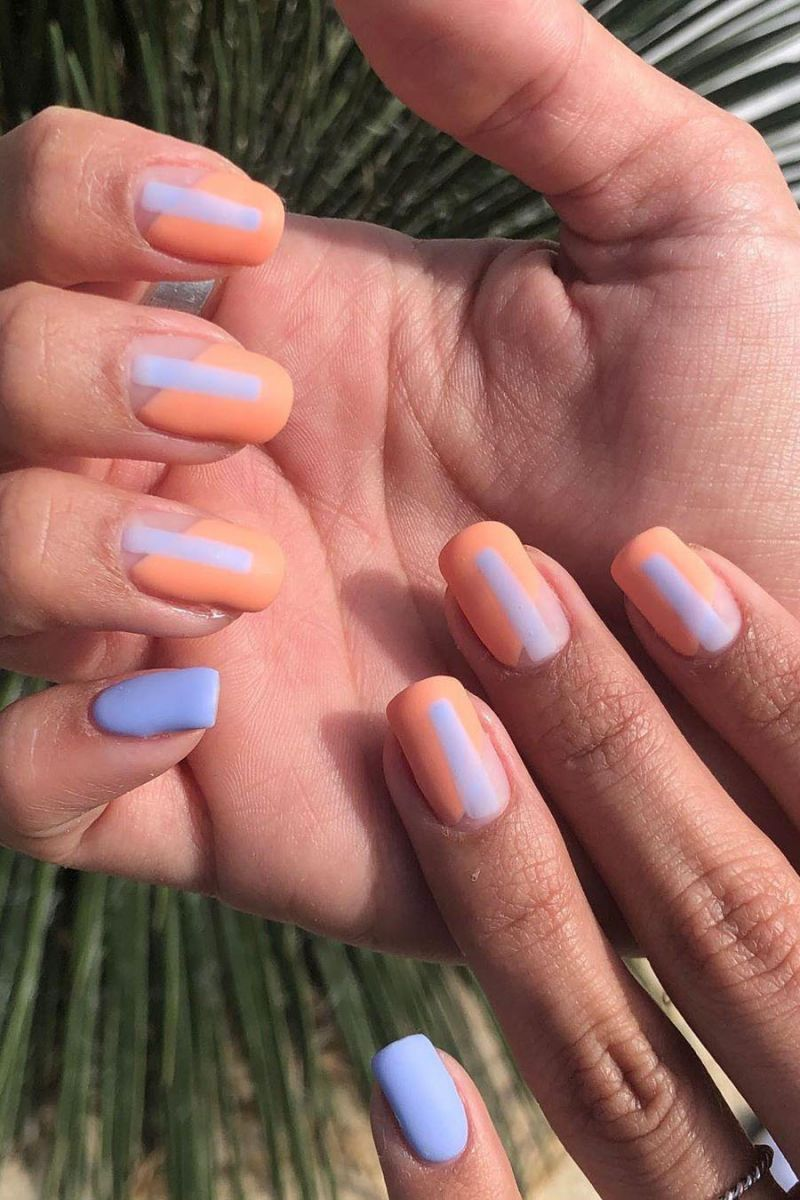 55 Gorgeous Matte Nails You Will Love In 2020 With Images Cute