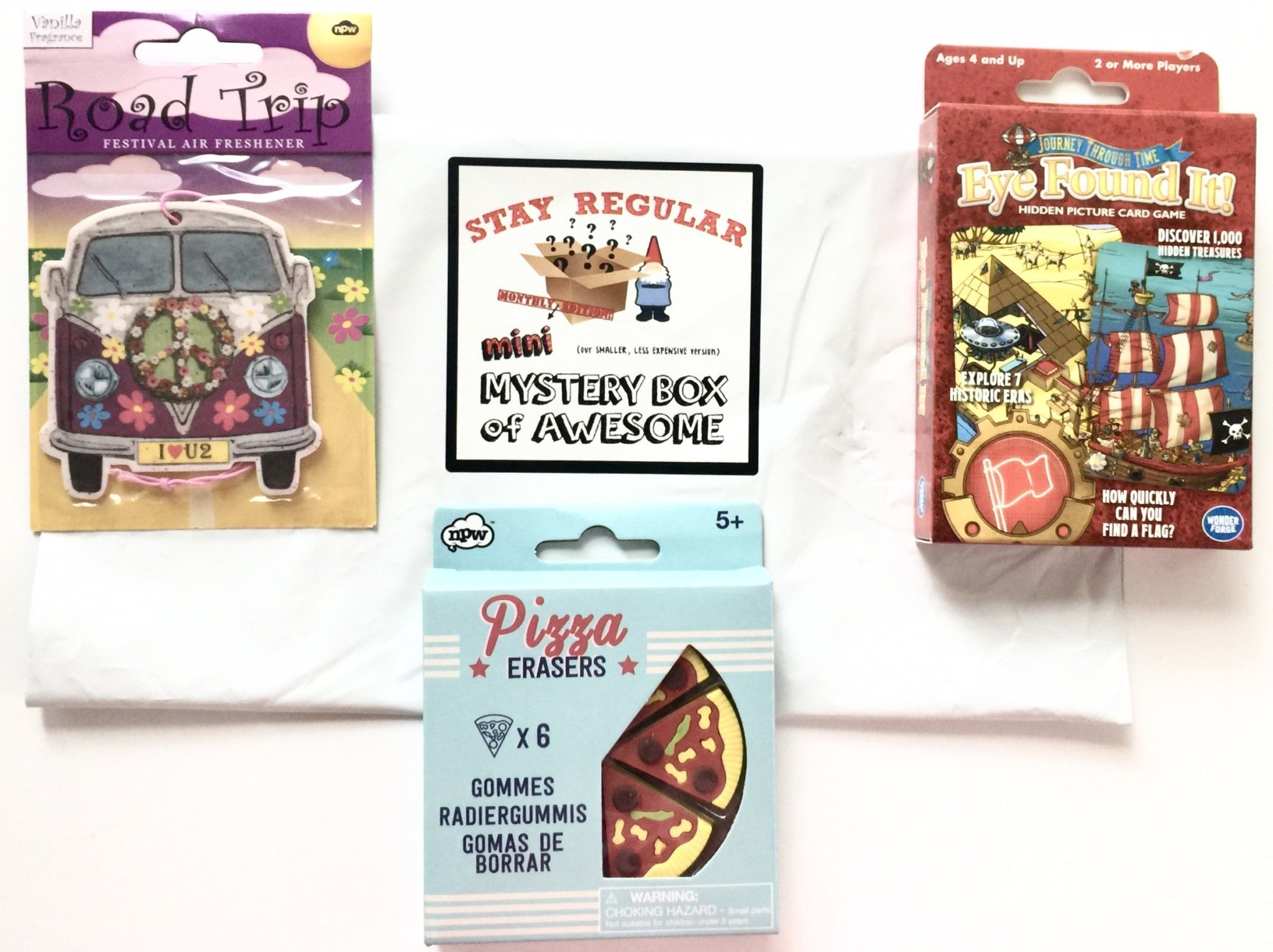 July 2019 Mini Monthly Mystery Box of Awesome Mystery