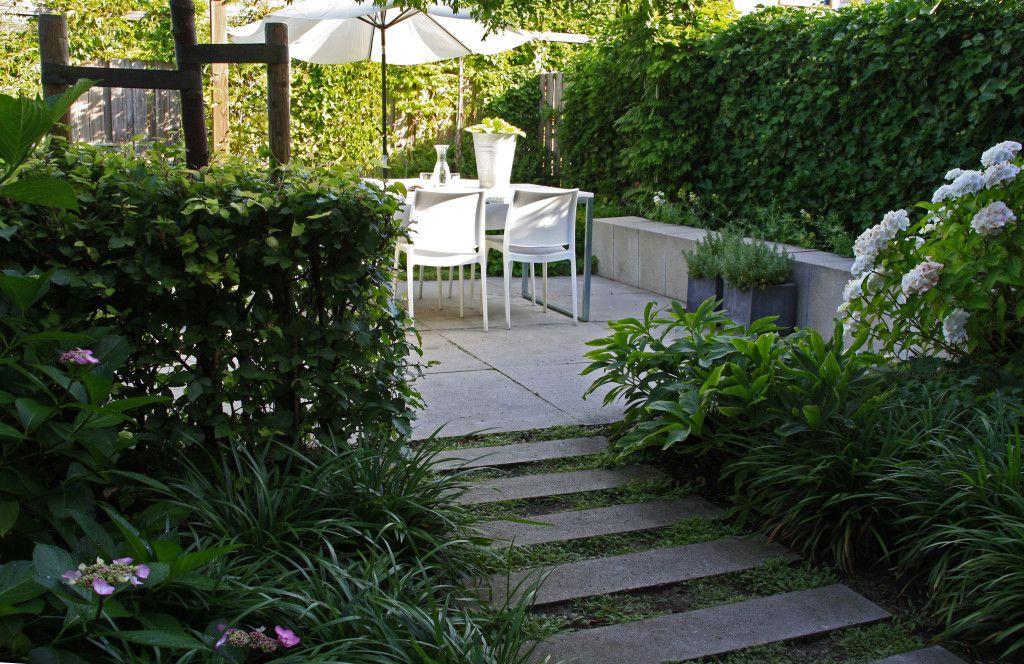Groene stadstuin kes na p2 garden pinterest tuin for Landelijke stadstuin