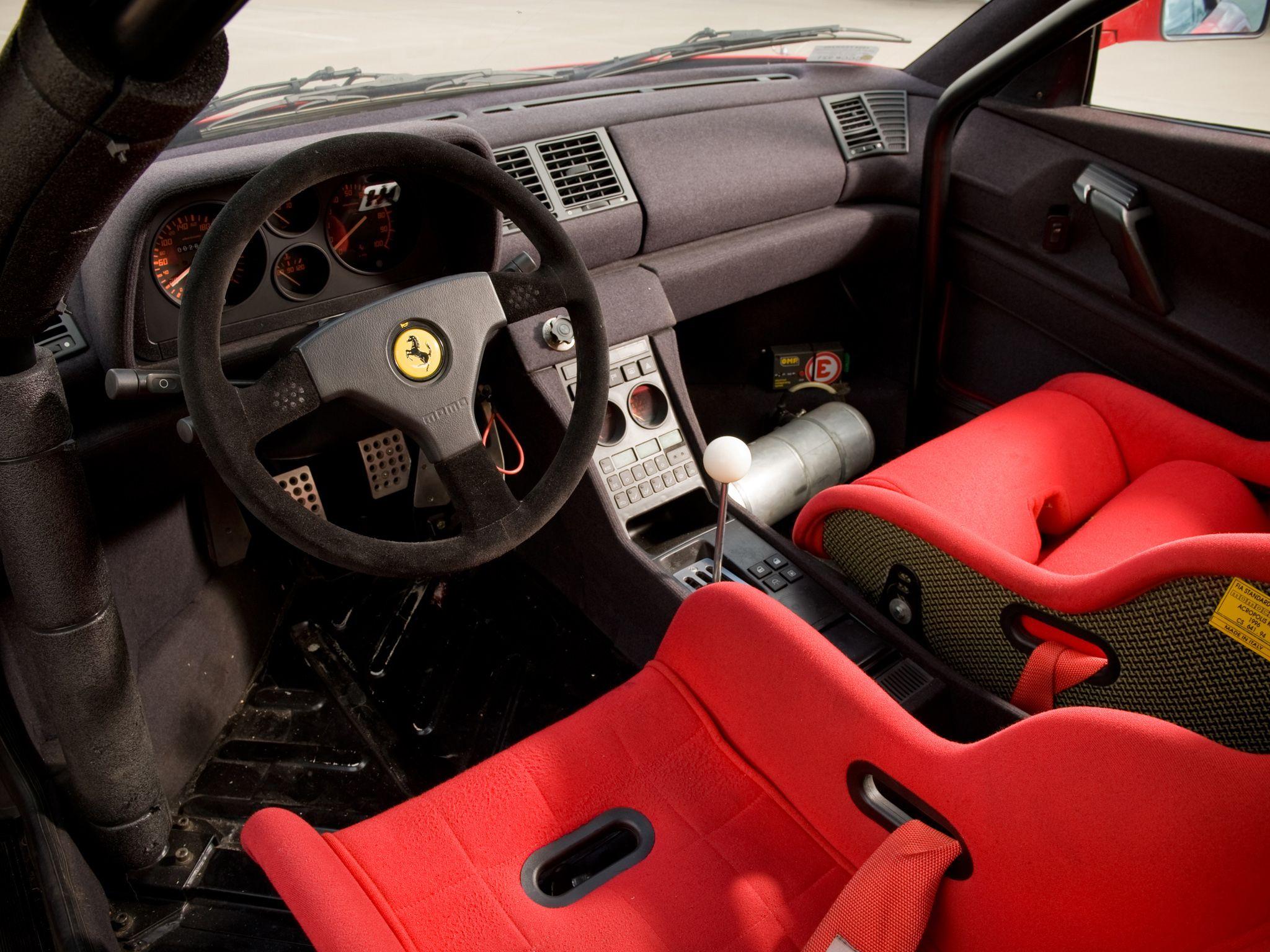Ferrari 348 Gt Competizione 1994 Ferrari Cortile