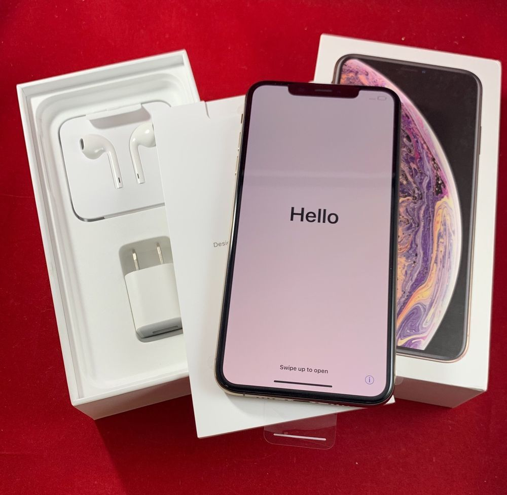 New Apple Iphone Xs Max 256gb Gold Verizon Unlocked A1921 Cdma Gsm At Iphone Xs Iphonexs Apple Iphone Iphone Phone Cases Apple Phone