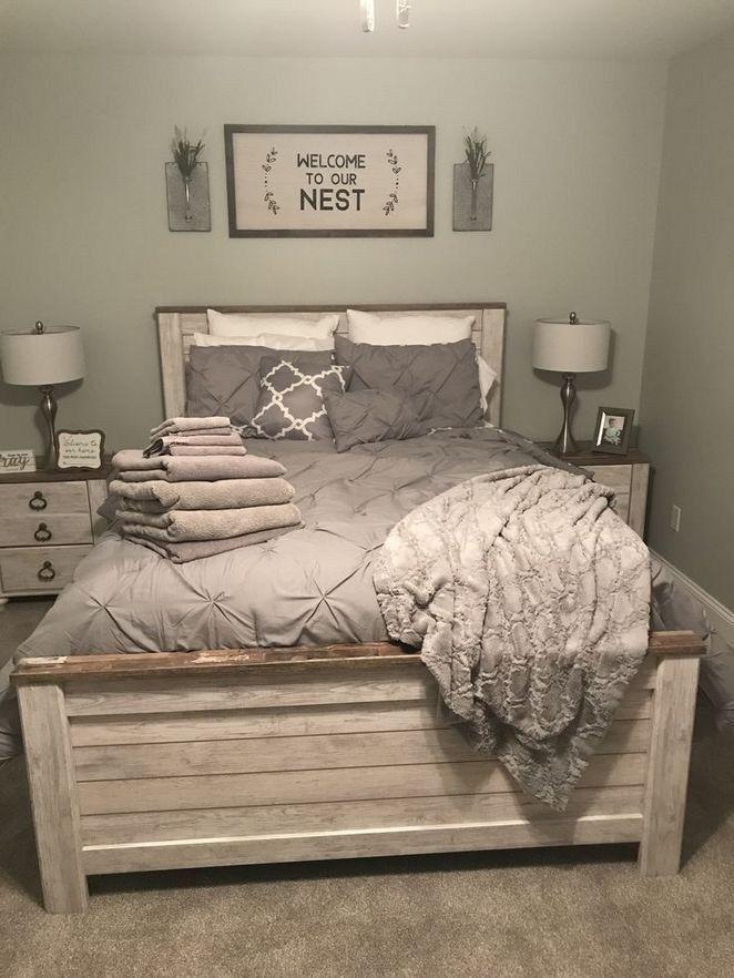 44 Best Farmhouse Bedroom Furniture Design Ideas And Decor 37 Farmhouse Bedroom Furniture Bedroom Furniture Design Master Bedroom Color Schemes
