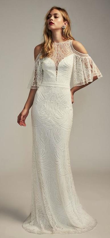 Sophisticated Tadashi Shoji Wedding Dresses for the Elegant Bride ...