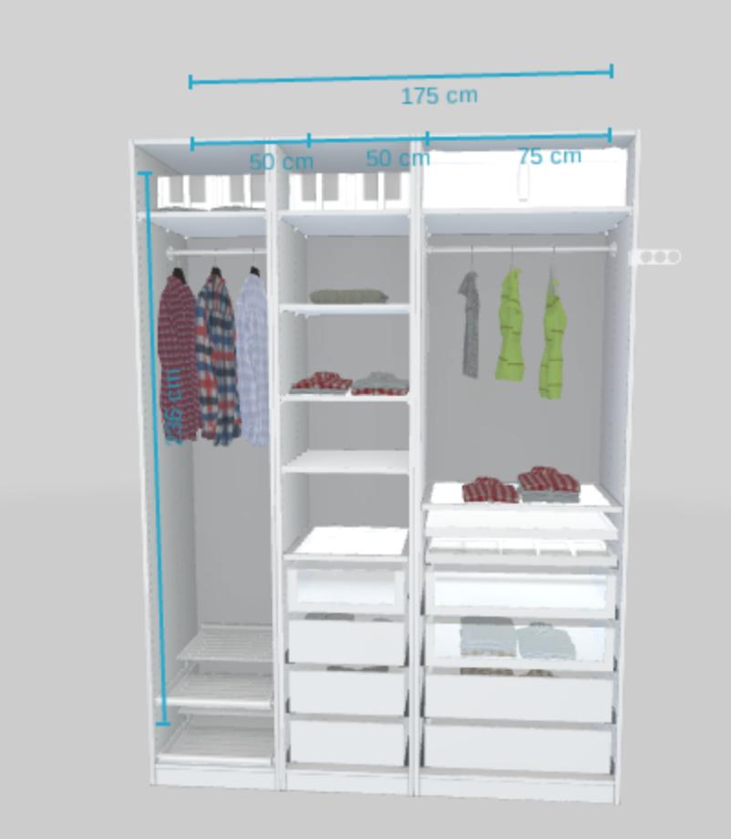 mon dressing ouvert ikea pax k amenagement dressing. Black Bedroom Furniture Sets. Home Design Ideas