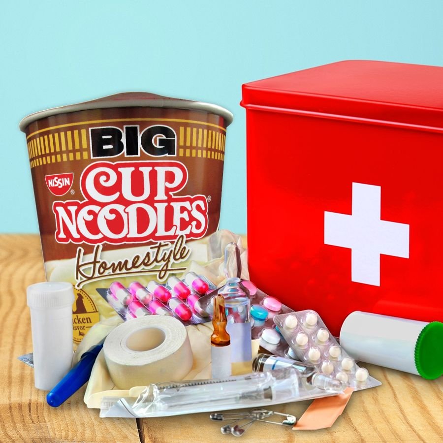Big Cup Noodles: It fixes (almost) everything!