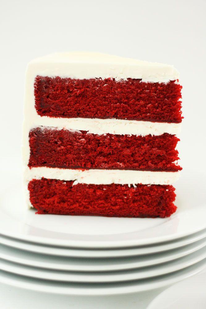 Red Velvet Cake With White Chocolate Cream Cheese Frosting Cake Paper Party Recipe Velvet Cake Chocolate Cream Cheese Frosting Red Velvet Cake