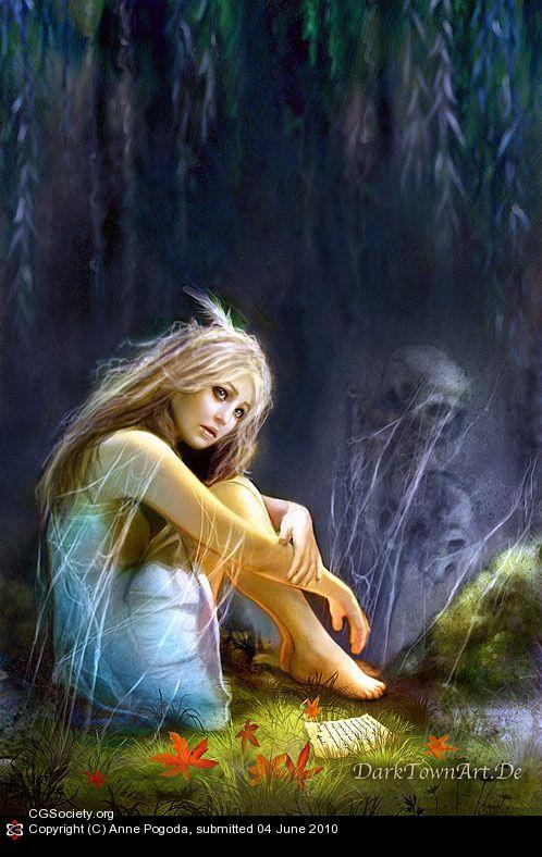 Lonely Soul By Anne Pogoda 2d Cgsociety Fantasy