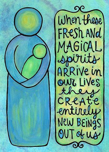 fresh and magical spirits