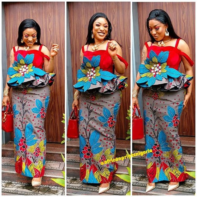 2019 Fascinating And Stylish Ankara Skirt And Blouse Styles For Ladies With Images Ankara Skirt And Blouse Ankara Skirt Blouse Styles