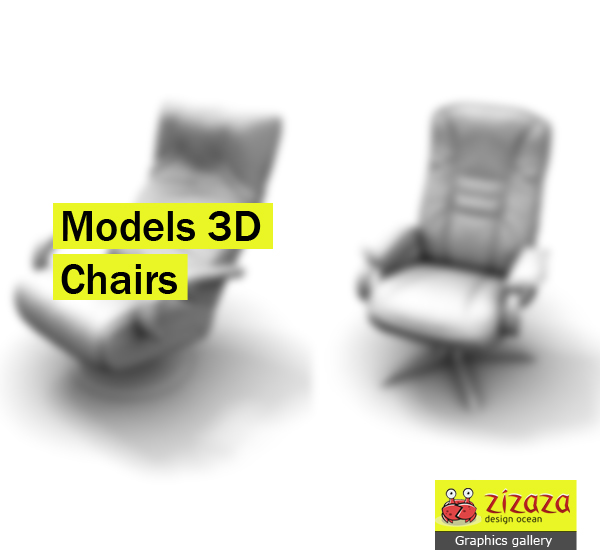 Graphic - Chairs - 3D Models - Zizaza item for free