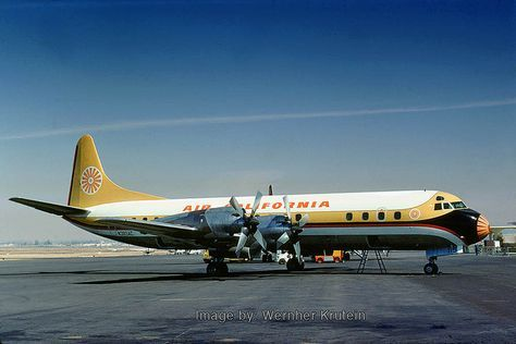 Air California Other Propliners Vintage