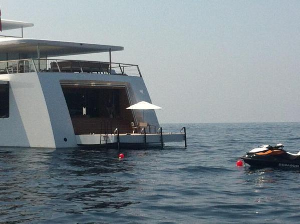 Venus Yacht In Capri Photo Du Jour Le Yacht De