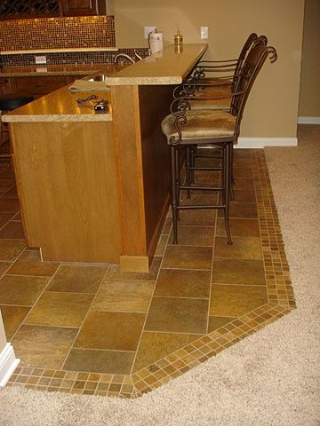 how to transition tiles to carpet in a room - google search