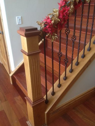 Stair Railing Makeover Staircase Remodel