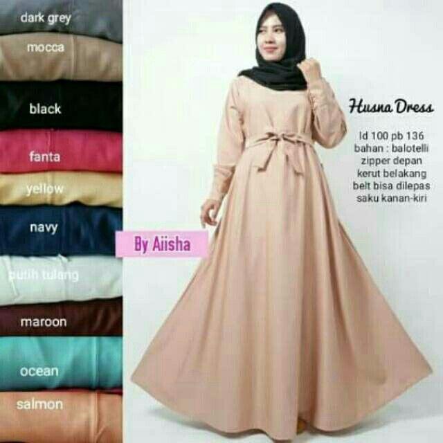 Temukan Dan Dapatkan Sale Gamis Jilbab Maxi Dress