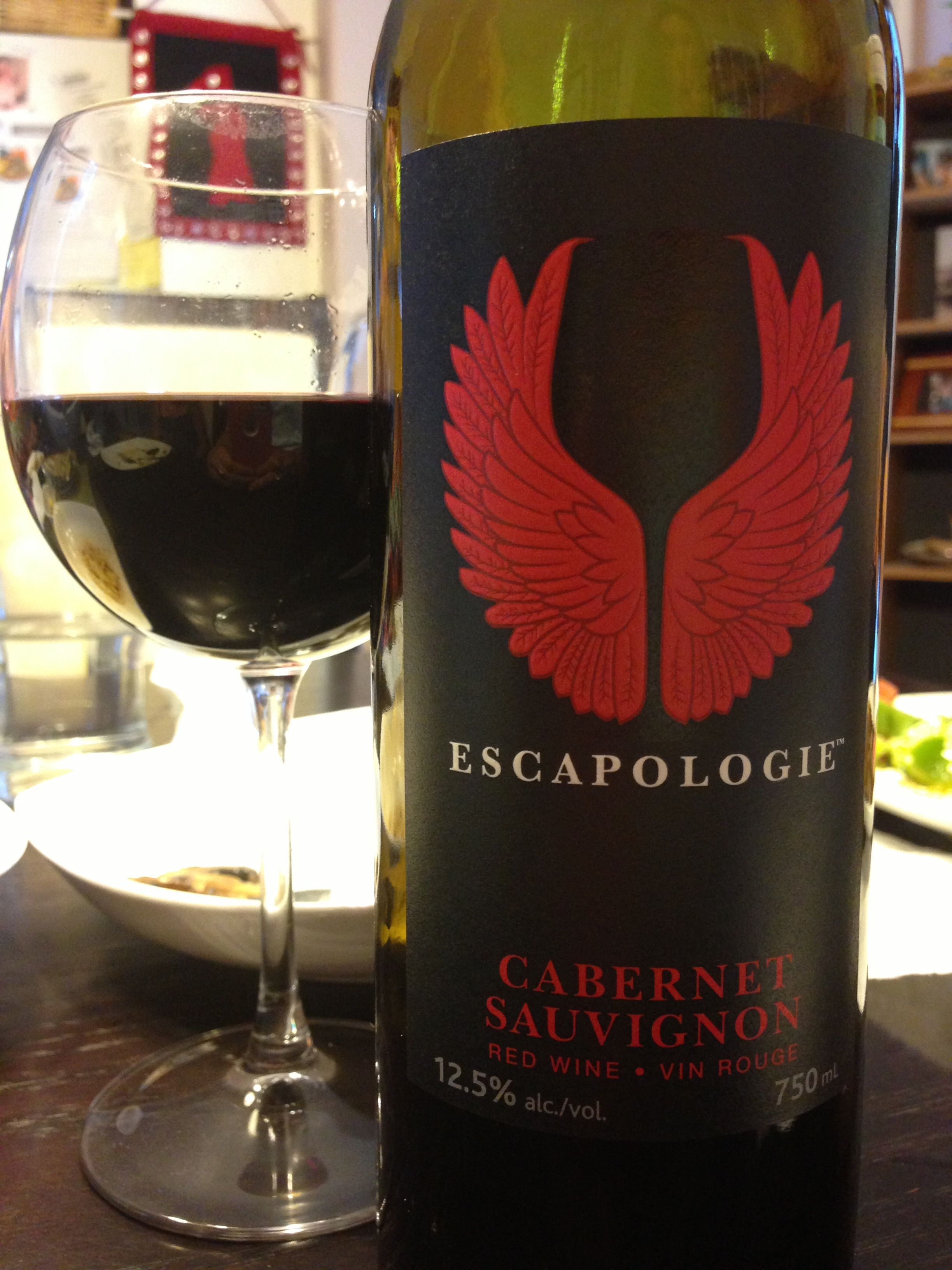 Escapologie Cabernet Sauvignon A Velvety Cab Sav With Current Blackberry Flavours With A Slight Spice U Imported Wine Red Wine Cabernet Sauvignon