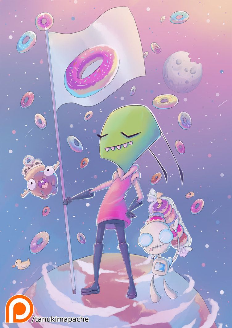 Who knew such a vicious and evil species would love donuts? It's really quite amazing