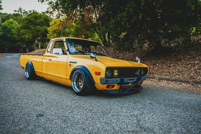 CA Slammed 1978 Datsun 620 King Cab 5 Speed Maintenance Restoration Of Old Vintage Vehicles The Material For New Cogs Casters Gears Pads Could Be Cast