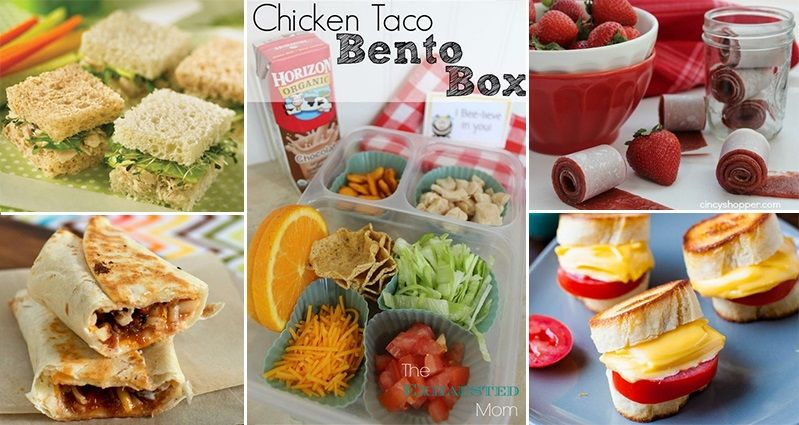 Easy-To-Make Lunches For Children