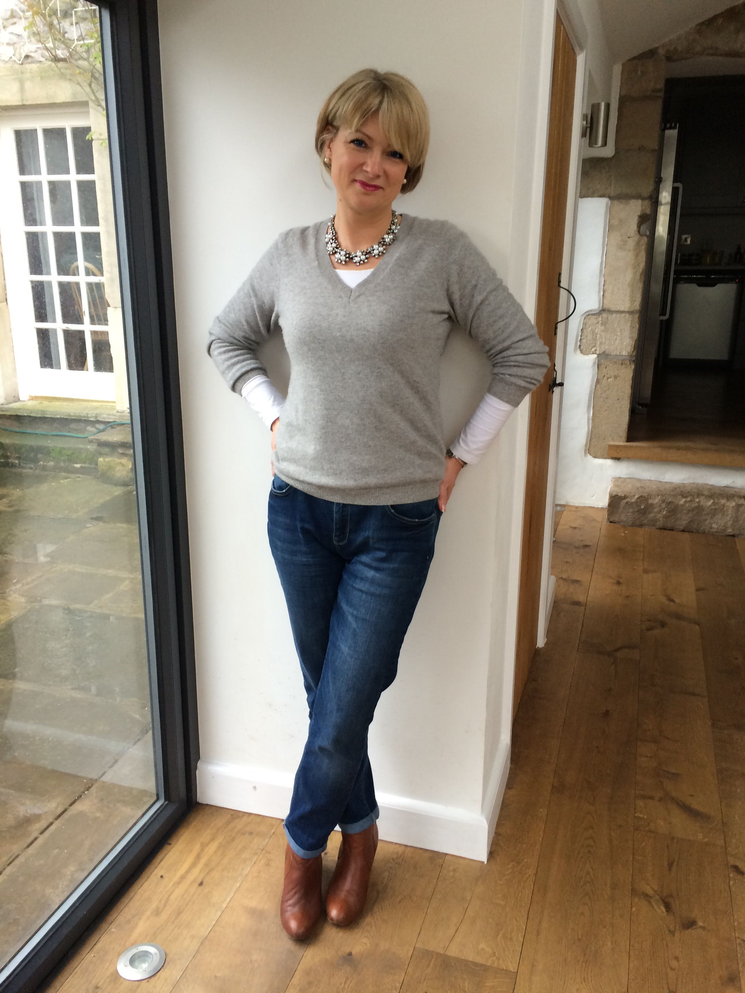 Easter Week Chic | Hard days, Grey sweater and For women