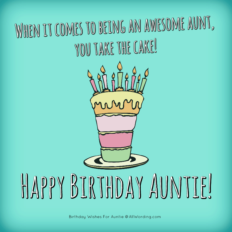 Happy Birthday Auntie 50 B Day Wishes For Your Beloved Aunt Happy Birthday Quotes For Her Happy Birthday Auntie Happy Birthday Aunt