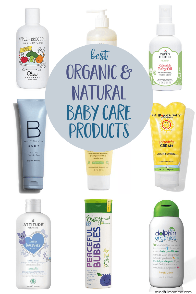 The Best Organic Natural Baby Products For Bath Body Care Baby Shampoo Natural Baby Baby Care Tips