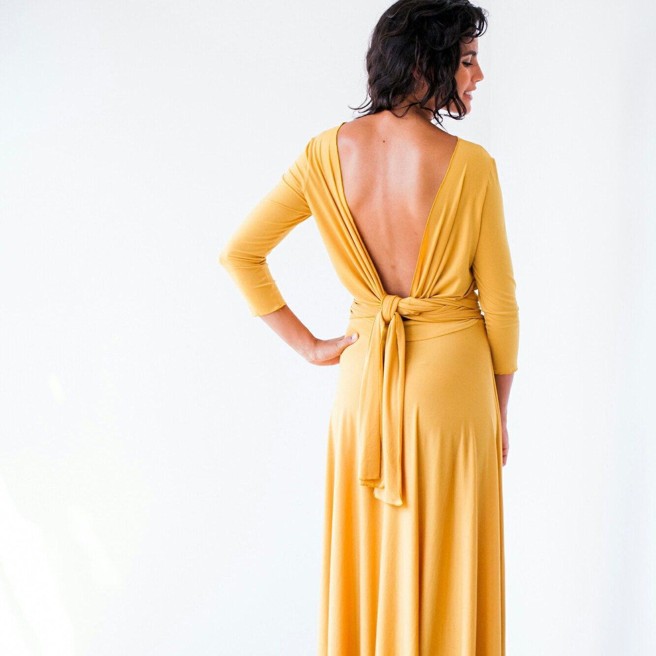 Long sleeve maxi dress maxi dress long sleeve dress mustard