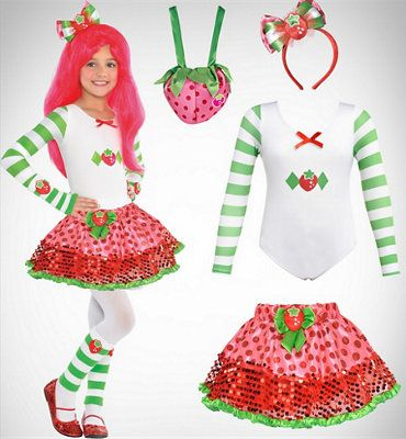 Sew a Strawberry Shortcake Costume by The DIY Mommy | 1st birthday | Pinterest | Strawberry shortcake costume Costumes and Birthdays.  sc 1 st  Pinterest & Sew a Strawberry Shortcake Costume by The DIY Mommy | 1st birthday ...