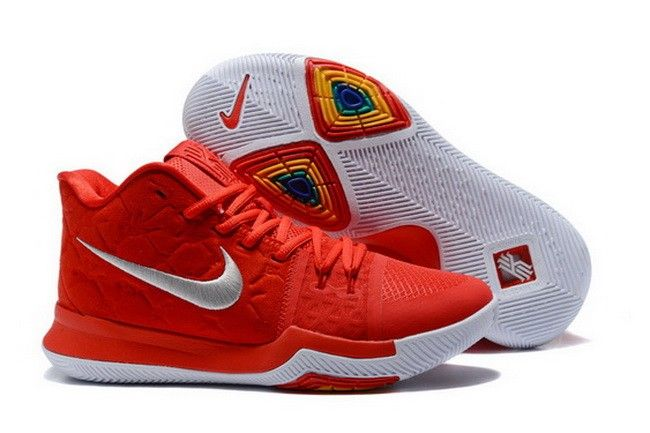 huge discount 1c2ff a51c9 852395 601 Mens Nike KYRIE 3 Basketball Shoes University Red