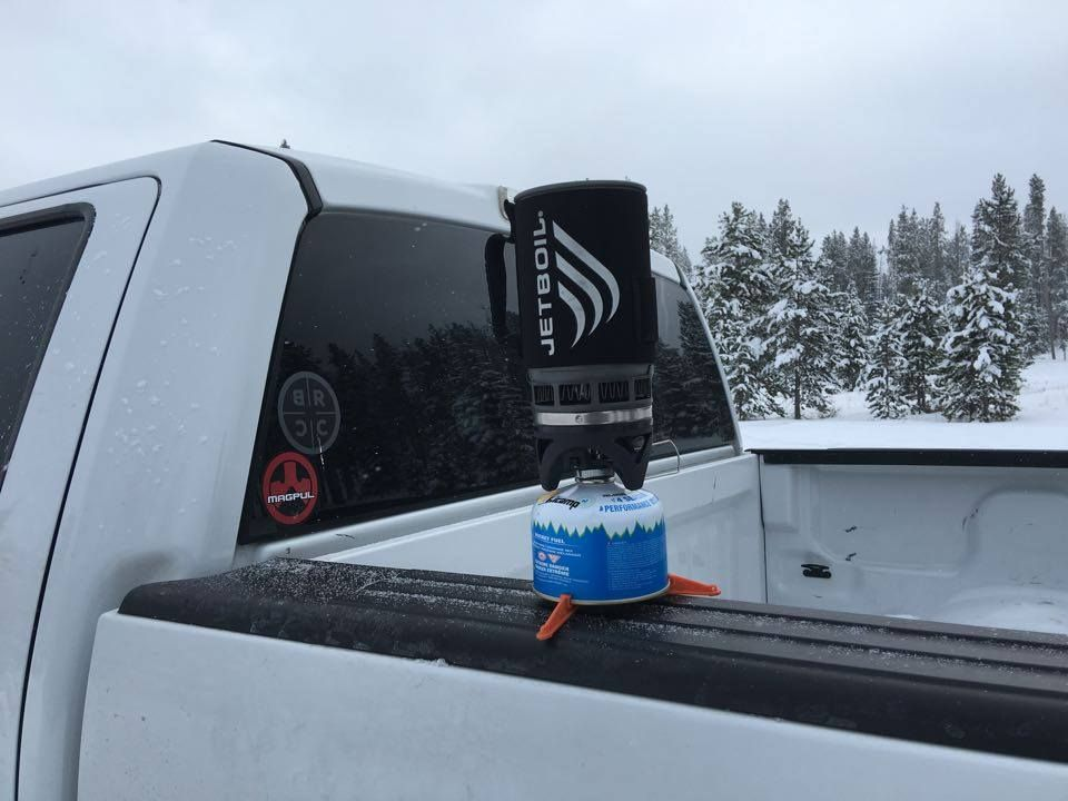 In the field and at the range black rifle coffee is always around including your truck window