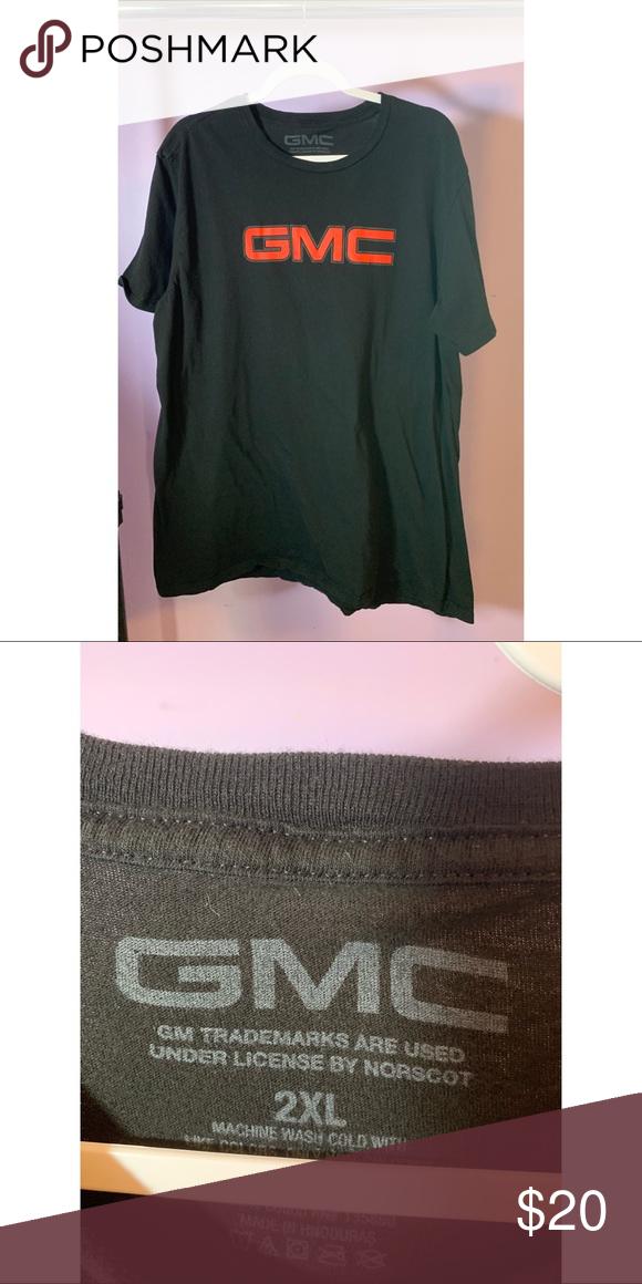 Euc Gmc T Shirt Shirts Clothes Design
