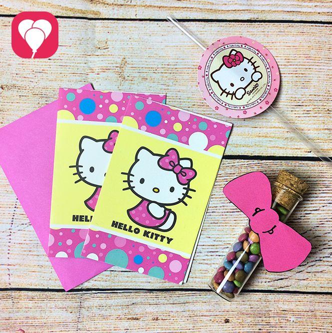 Nette Hello Kitty Einladungen Für Deine Hello Kitty Kindergeburtstagsparty  Gibt Es Z.B.