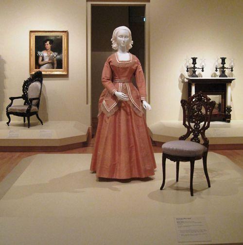 1871 Wedding Dress, United States, Indianapolis Museum Of