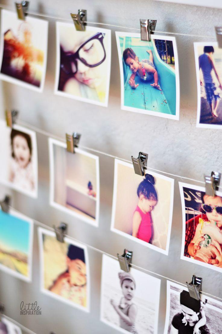 Fabriquer Un Pele Mele pêle mêle photos à faire soi-même – un cadeau personnalisé