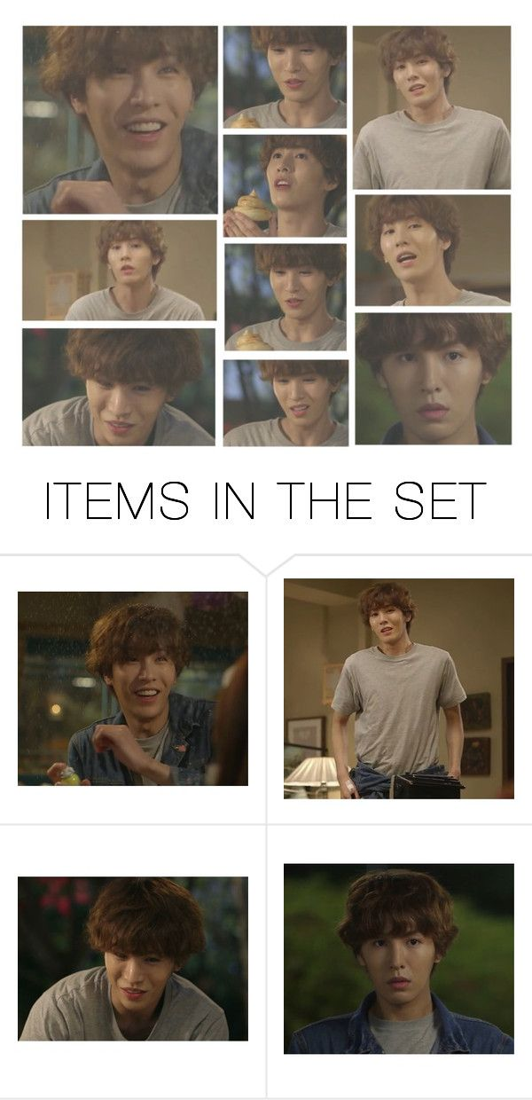 """""""no min-woo"""" by elliewriter ❤ liked on Polyvore featuring art"""
