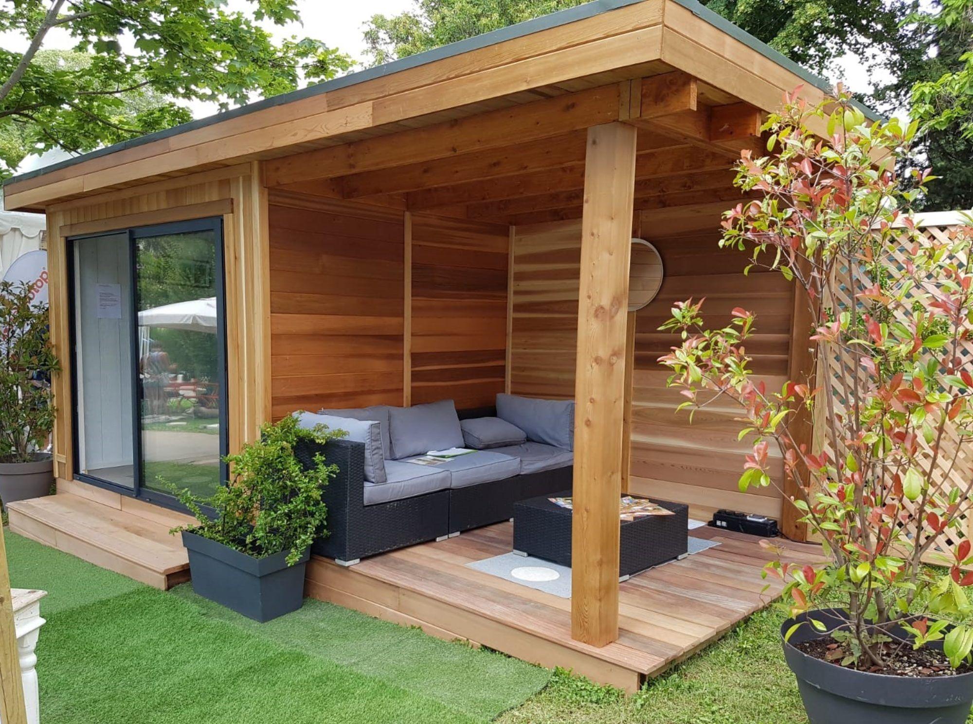 Abri De Jardin Habitable espace habitable, studio de jardin, extension, bureau de