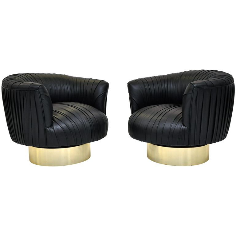 Good 1stdibs   Milo Baughman Swivel Chairs Explore Items From 1,700 Global  Dealers At 1stdibs.com