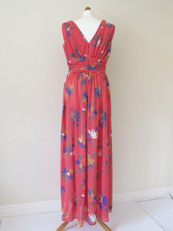 Vintage 1970s maxi dress by EllaandFrankVintage on Etsy