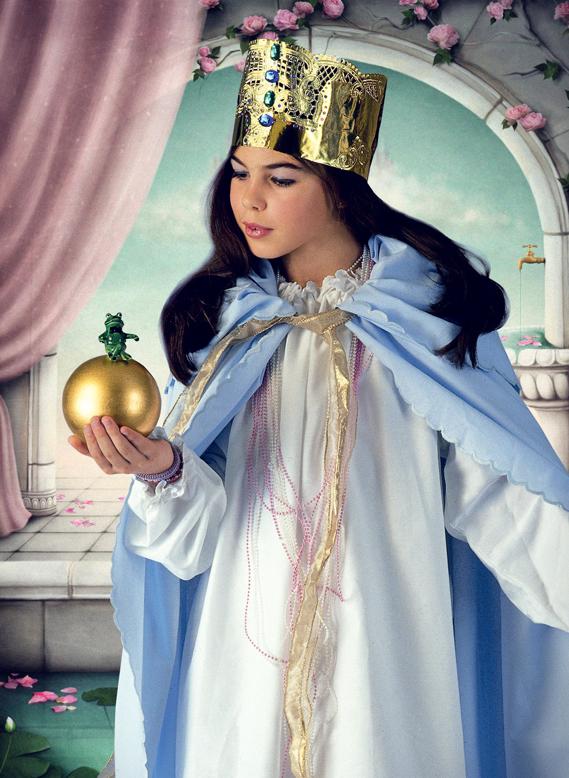Prinzessinnenkostüm mit Umhang nähen | Kostüme nähen | Pinterest ...