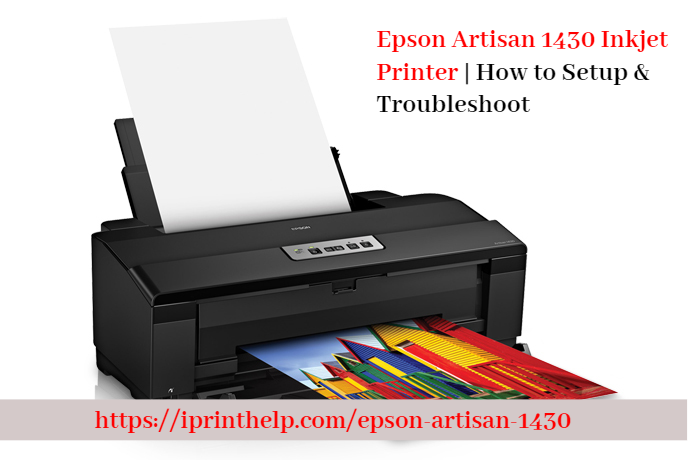 Epson Artisan 1430 Inkjet Printer How To Setup Troubleshoot Inkjet Printer Printer Cover Epson Printer