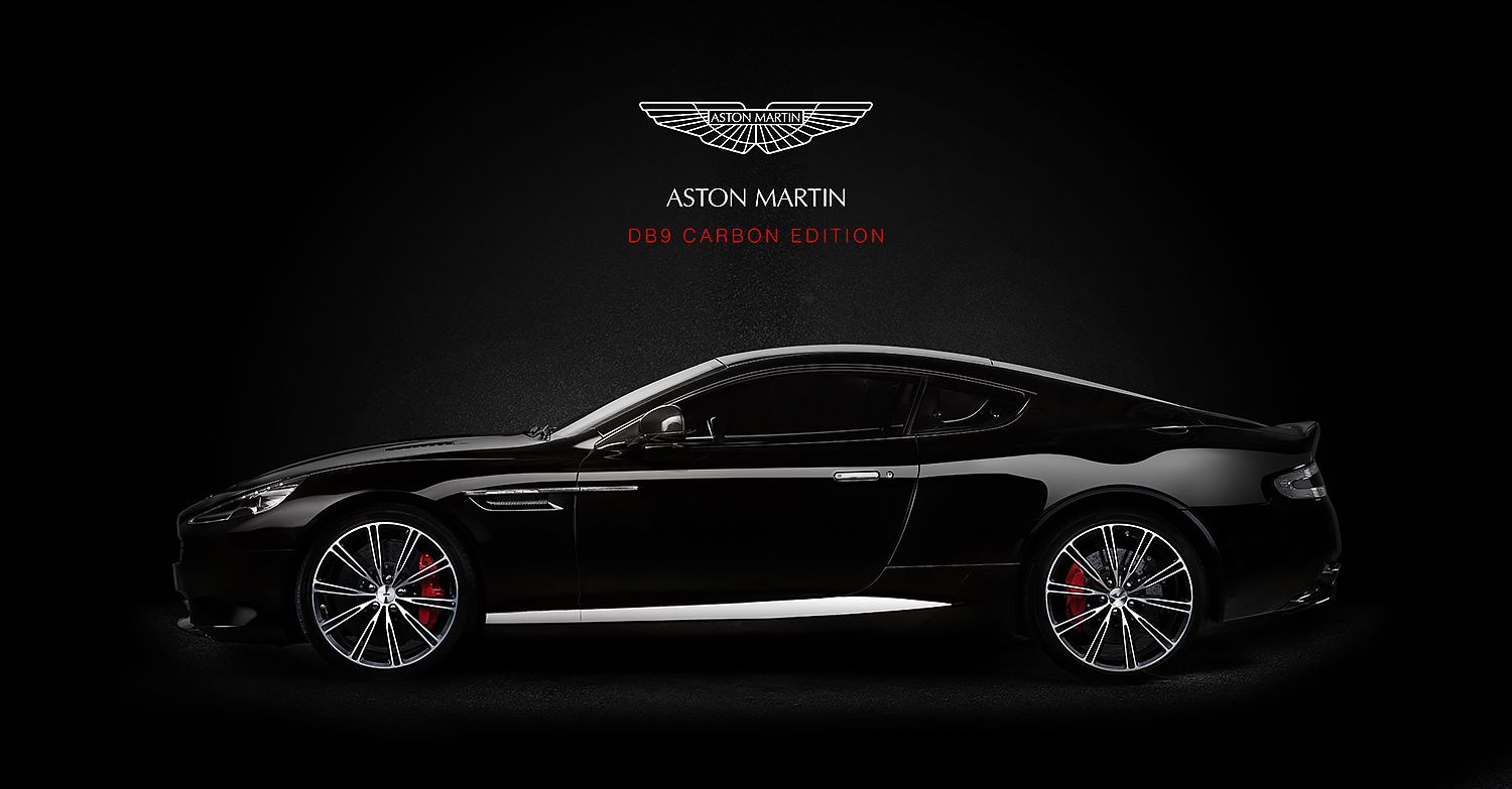 Aston Martin Db9 Black Carbon Edition By Photographer Noor Karzon