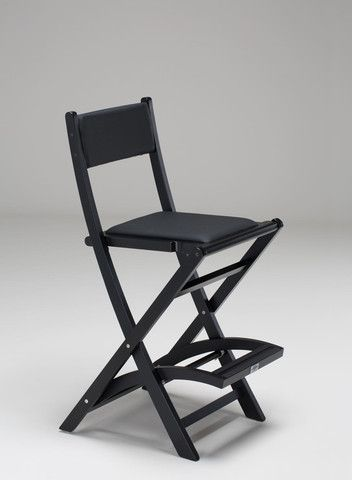 Padded Folding Wooden Salon Chair - Personalise Online - 1