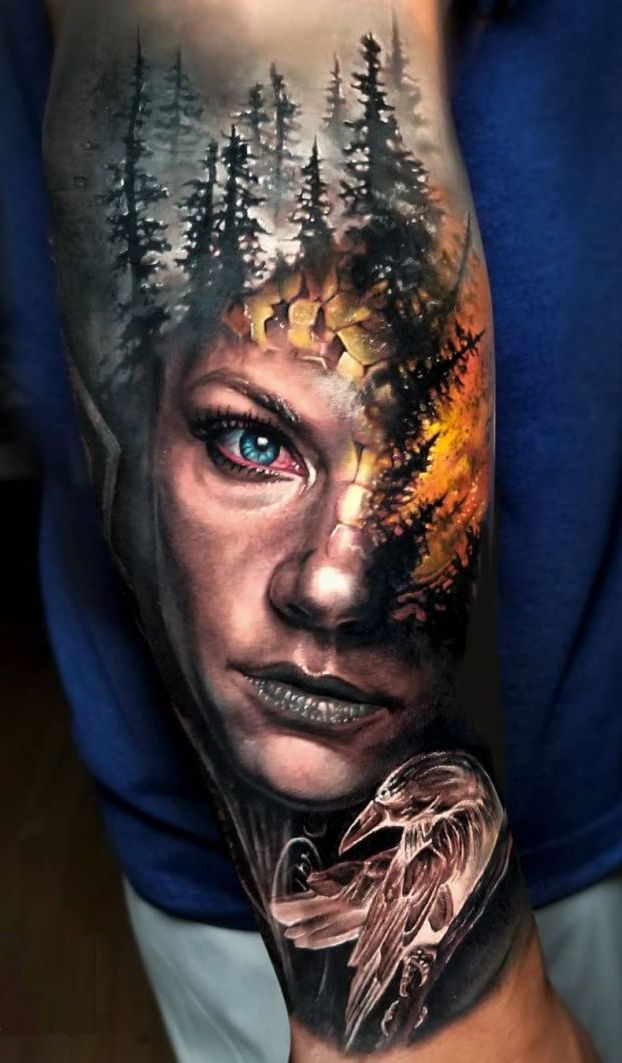 Cool Jaw Tattoos: Jaw-Dropping Face Morph Tattoos By Arlo DiCristina