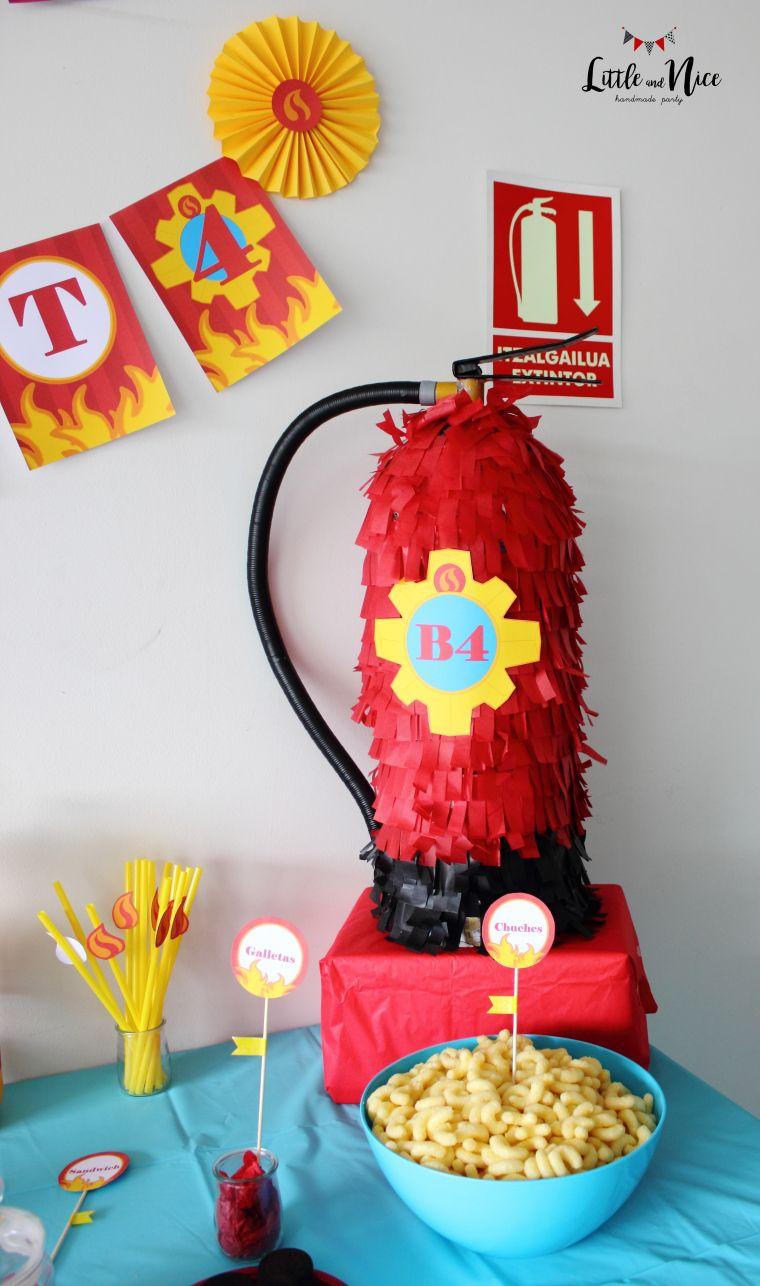 """Fiesta """"Sam el Bombero"""" para Beñat (I)   Firefighter   Pinterest ..."""