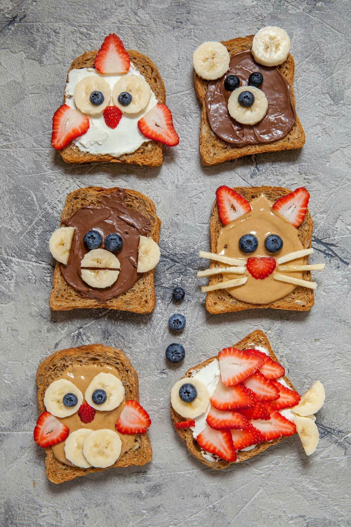 Pin By Ines Zagreb On Lilianah And Kaleah Food Baby Food Recipes Fun Kids Food Breakfast For Kids